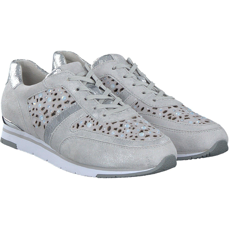 Gabor 64.323.61 - Zapatos de cordones para mujer 38 EU|plata