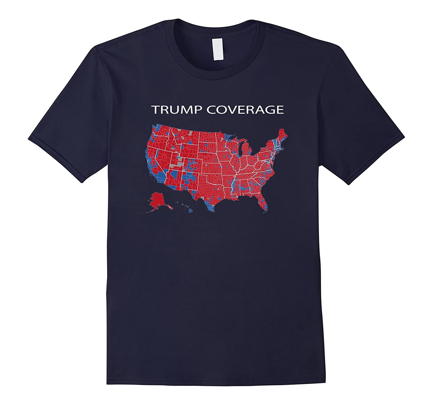 Trump Coverage T-Shirt - Electoral College Popular Vote Tee-TD