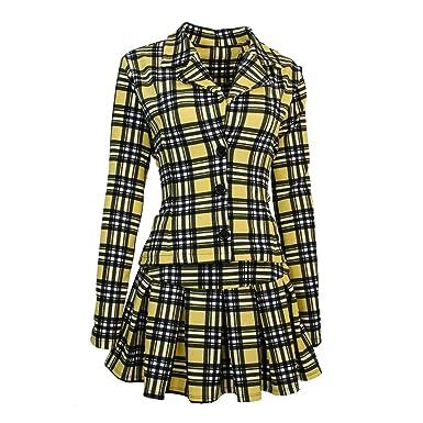 36d64edcbff Amazon.com  Largemouth Women s Clueless Cher Horowitz Costume Jacket ...