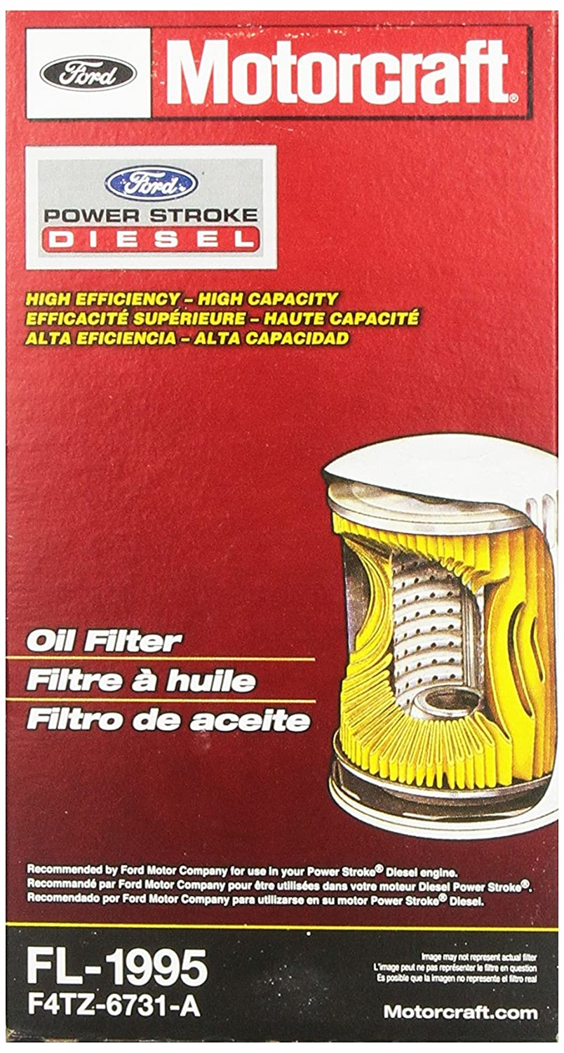 Motorcraft Fl1995 Oil Filter Automotive 1992 Ford F 250 Fuel Filters