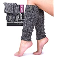 Women's Leg Warmers Made in the Netherlands with Breathable Thick Cozy Knit Eco-Friendly Wool