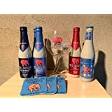 ピンクの象のデリリュウム全品勢揃い専用グラスとコースター付きセット