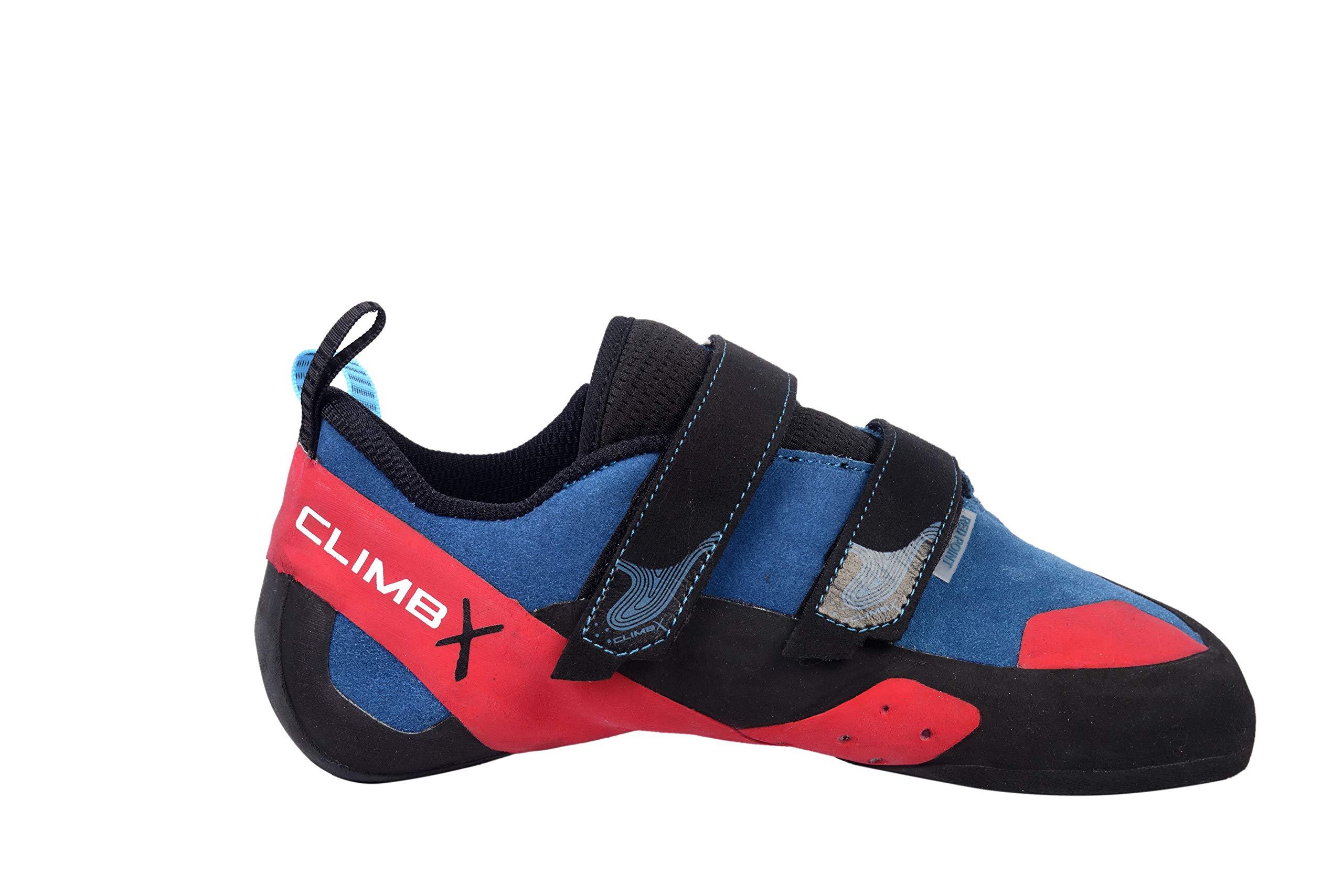 Climb X Gear Red Point Climbing Shoe 2019 (8) by Climb X