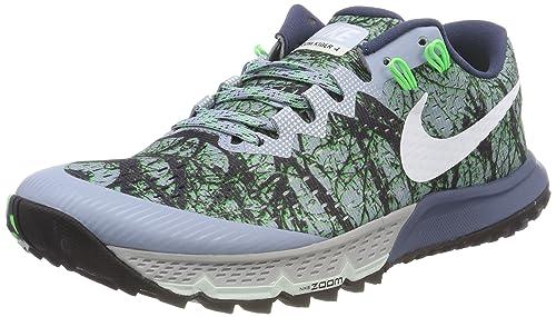 quality design fa69a b8137 Nike Air Zoom Terra Kiger 4, Scarpe da Running Uomo, Blu Grey White
