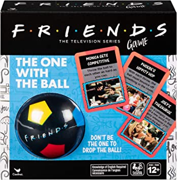 Juegos cardinales 6053618 Amigos 90 Nostalgia TV Show, la Que Tiene el Partido de la Bola del Juego, para Adolescentes y Adultos, Multicolor: Amazon.es: Juguetes y juegos