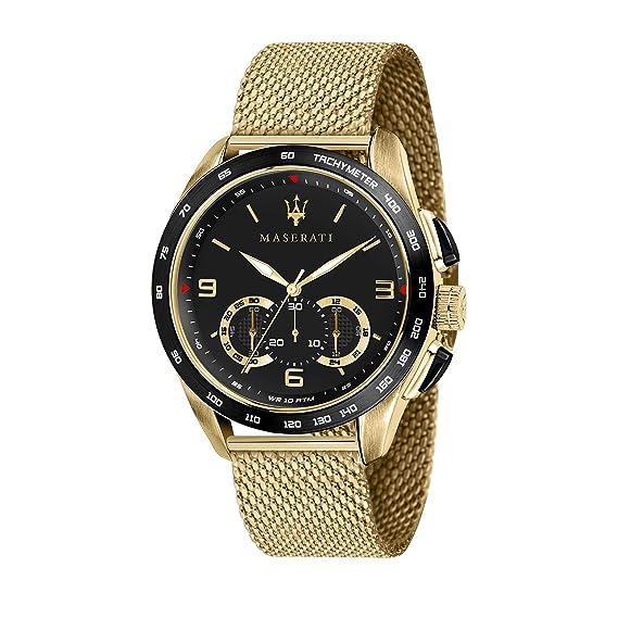 Maserati Reloj Analógico para Hombre de Cuarzo con Correa en Acero Inoxidable R8873612010: Amazon.es: Relojes