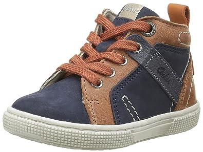 Aster Dribble, Chaussures Premiers Pas Bébé Garçon, Marron (Marron), 24 EU