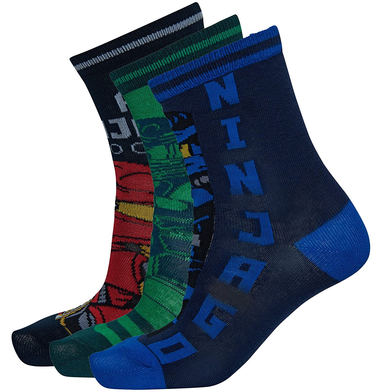 Lego Wear Jungen Socken, 3er Pack 20679