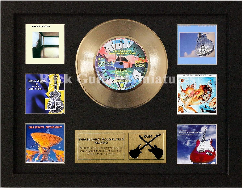 Unbekannt Roca Guitar Miniatures Rgm1425 Dire Straits 24 Gold ...