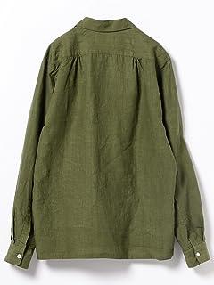 Linen Camp Shirt 11-11-4836-139: Olive