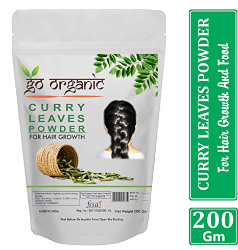 Buy Go Organic Curry Leaves Powder To Grow Long Strong And Shiny
