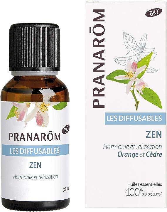 Pranarom - Mezcla de difusión Zen 30 ml - Aromaterapia y difusión ...