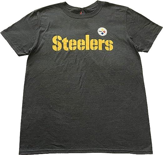 Nike Mens Pittsburgh Steelers Logo Essential 3 Tee Black Size X-Large