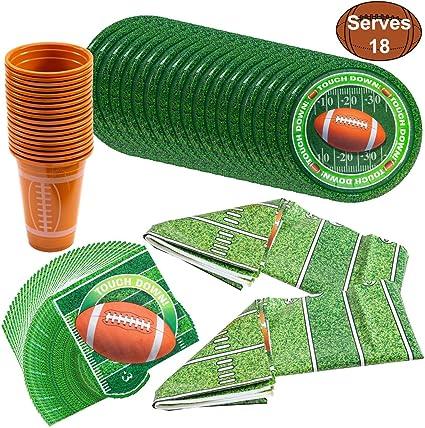 Amazon.com: JOYIN - Paquete de 18 copas temáticas de fútbol ...