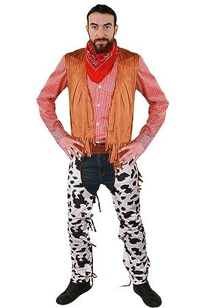 I Love Fancy Dress para hombre adulto disfraz de vaquero Wild ...