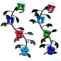 Hashcart - Portavelas decorativo para colgar en la