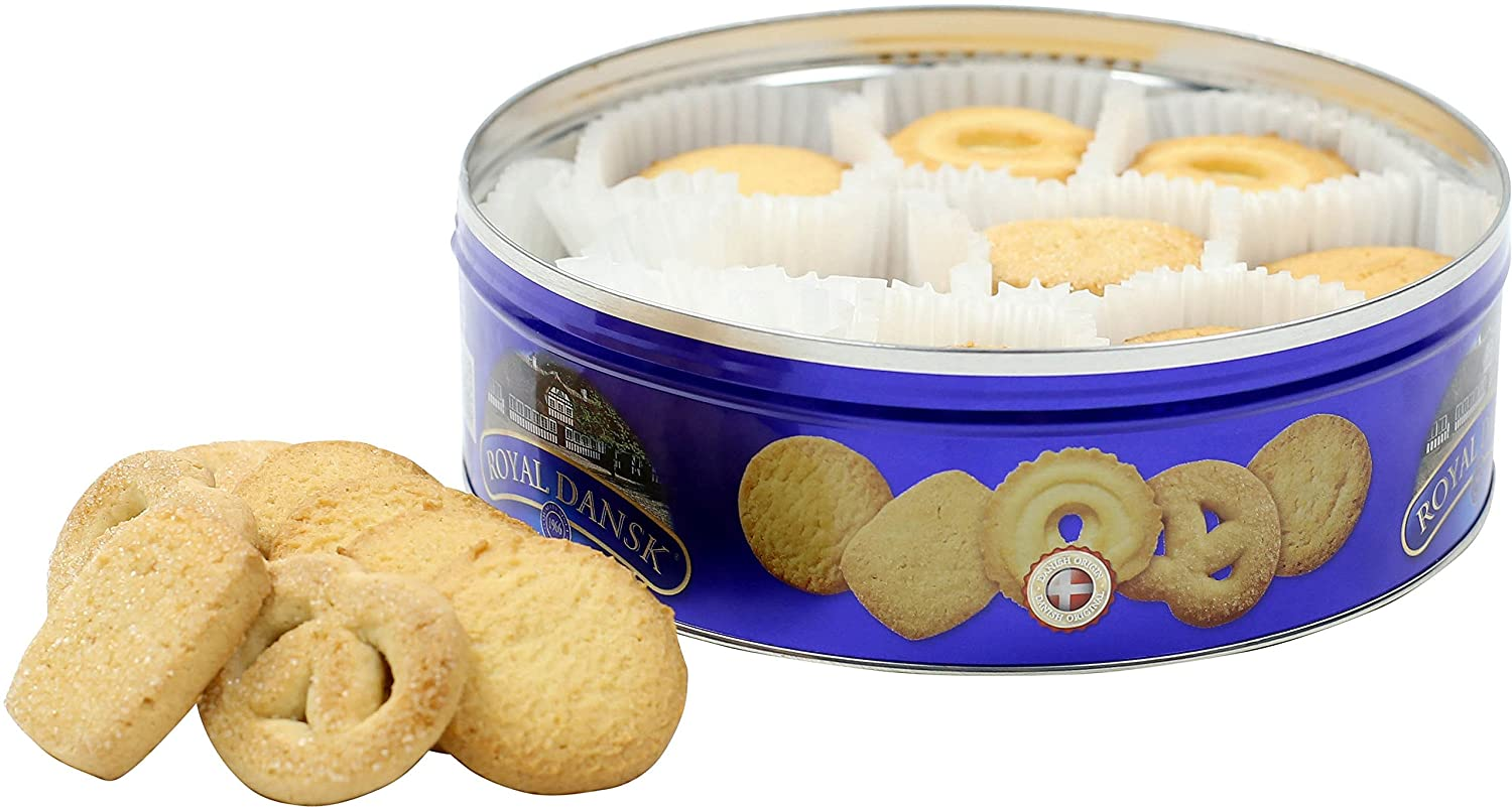 Royal Dansk Danish Cookie Selection, No Preservatives or Coloring Added, 12 Ounce