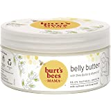 Burt's Bees Mama Belly Butter with Shea Butter and Vitamin E, 99.0% Natural Origin, 6.5 Ounces