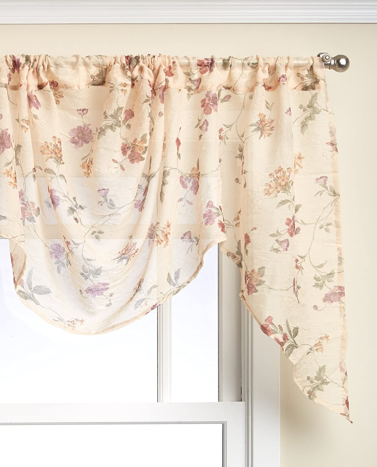 Lorraine Home Fashions Brewster Tailored Window Curtain Panel
