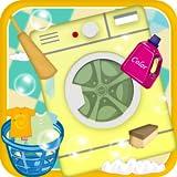 Kids Wash & Iron Clothes - Laundry Machine