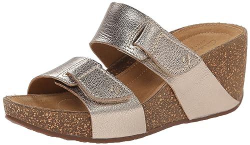 7330a893 Clarks Women's Temira East Wedge Sandal
