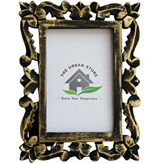 Decorative Hand Crafted Wooden Photo Frame, Decorative Hand Crafted Wooden  Photo Frame, Distressed Wood