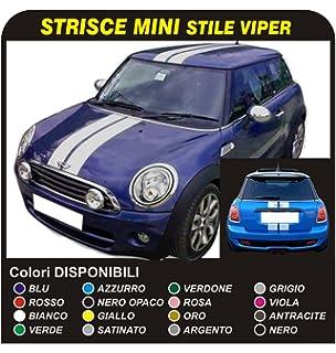 Mini Cooper Kit Strisce Adesive Cofano Mini Cooper S R53 Cooper S E