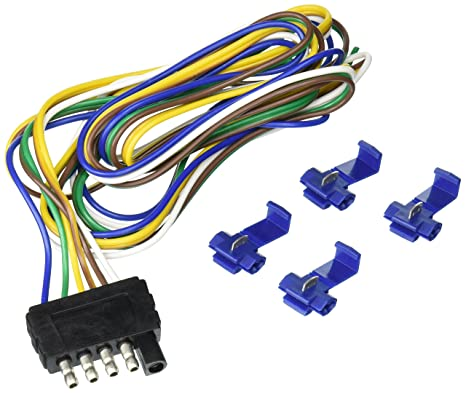 Tow Ready 118017 48 5 Flat Trailer End Wiring Harness