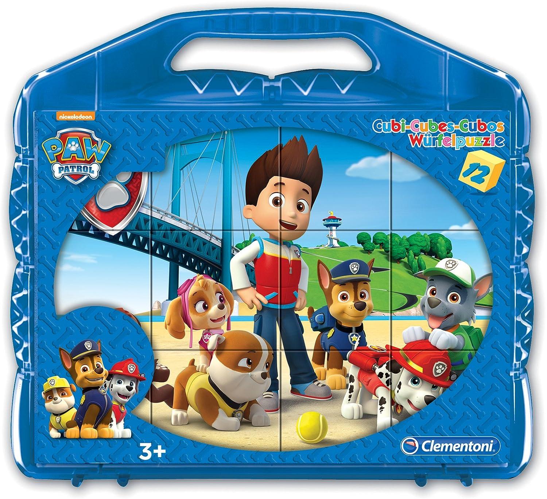 Clementoni 41180 Puzzle - Rompecabezas (Rompecabezas de Cubos, Dibujos, Preescolar, Niño/niña, 3 año(s), 5 año(s))