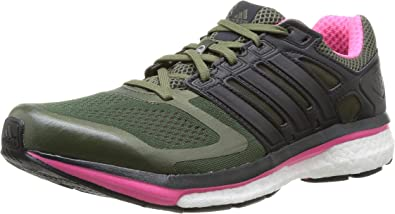 adidas Supernova Glide 6W - Zapatillas de Running para Mujer, Color Verde, Talla 6 UK: Amazon.es: Zapatos y complementos