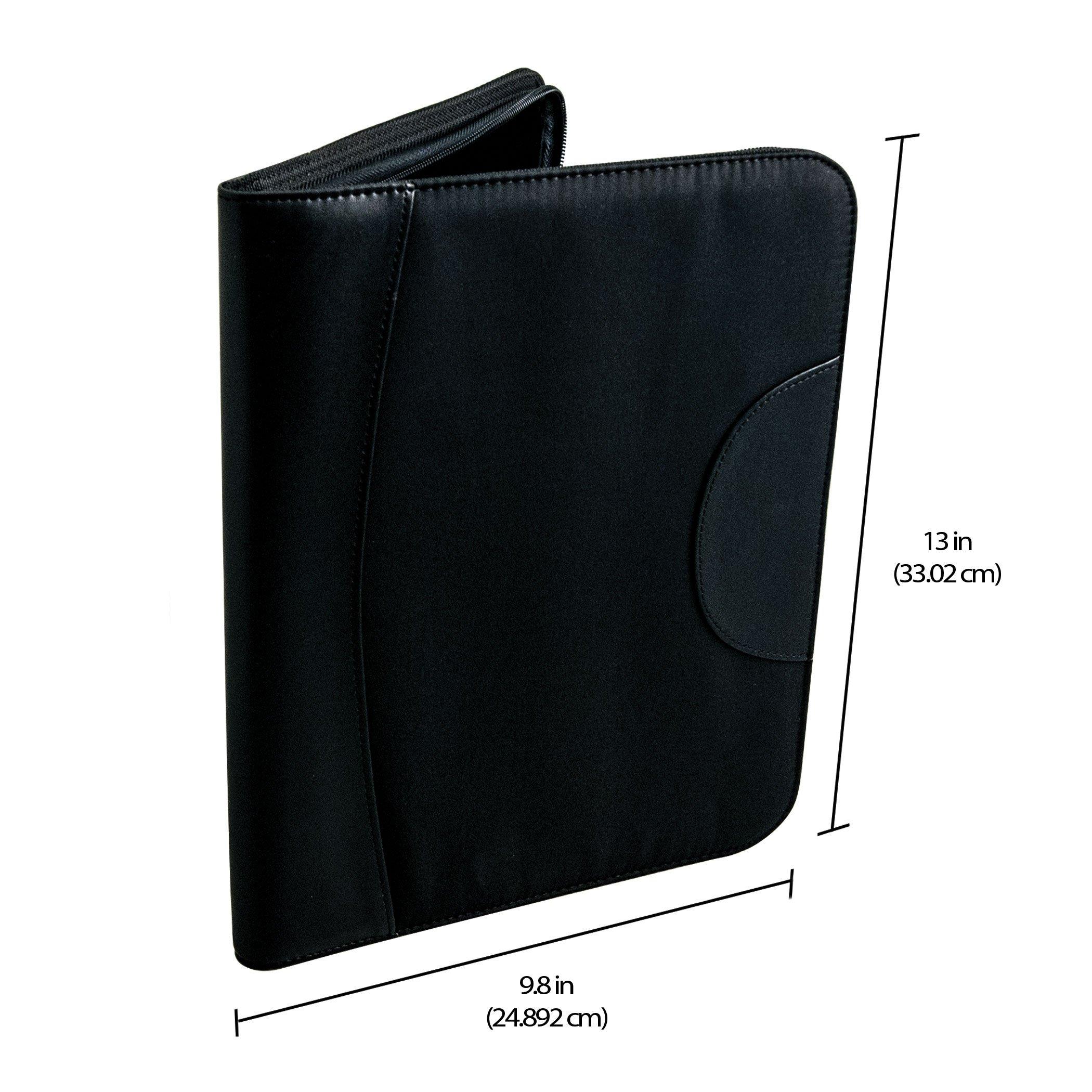 MONTEVERDE Monteverde 36 PC Zipper Pen Case; Black (1407) by Monteverde (Image #6)