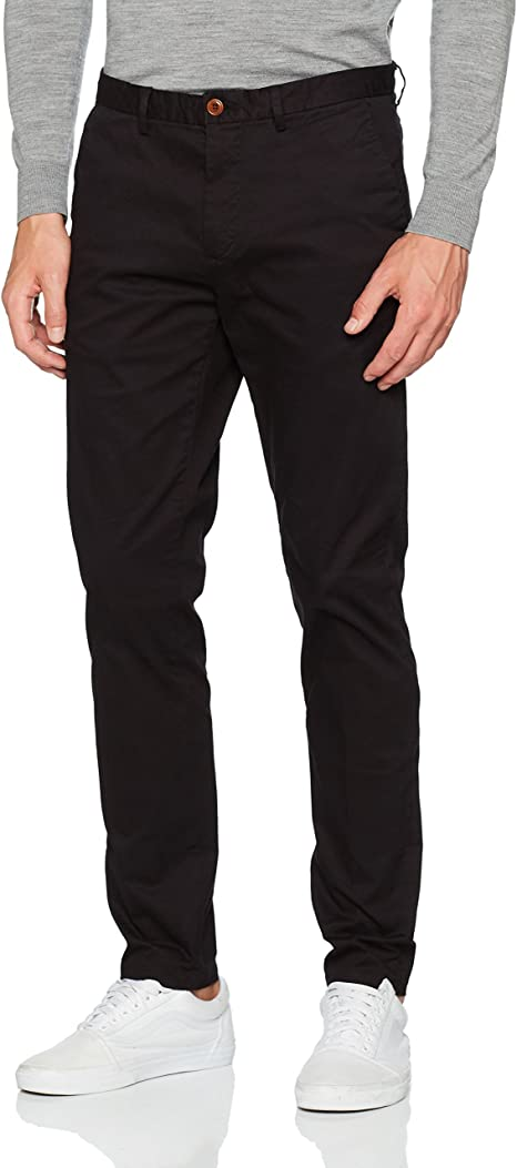 Scotch & Soda Mott-Stretch Baumwollechinos | Super Slim Fit Pantalones para Hombre