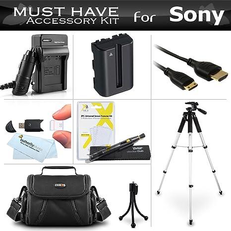 Esencial Kit de accesorios para Sony Alpha SLT-A58 K, SLT-A99 V ...