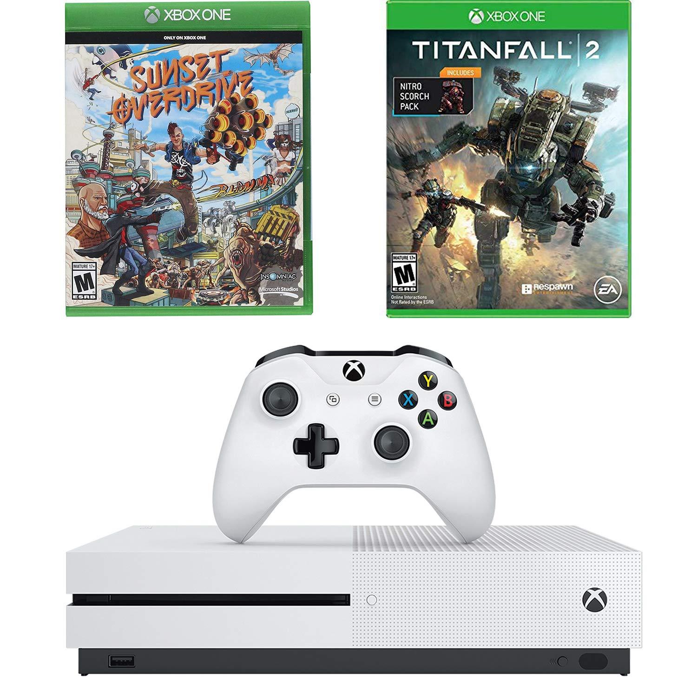 Amazon.com: Microsoft Xbox One S 1TB 4K BluRay Console ...