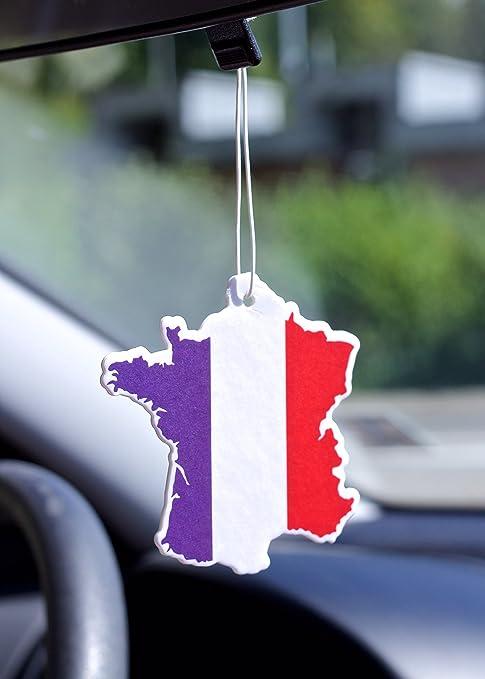 D/ésodorisant voiture auto drapeau Espagne Odeur Vanille