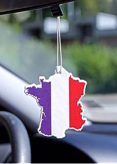 Amazonfr Désodorisant De Voiture Personnalisé Drapeau France Flag