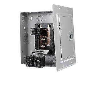 Siemens E1020MB1100FCGP 100-Amp Indoor Narrow Width Renovation Main Breaker Load Center, 10-Space 20-Circuit