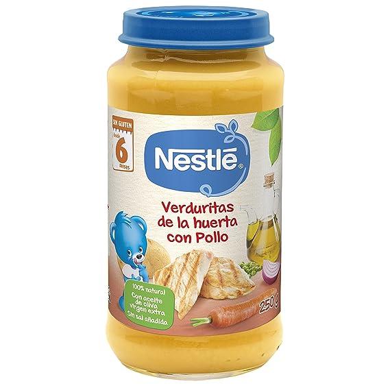Nestlé Naturnes Alimento Infantil, verduritas con pollo - 250 gr