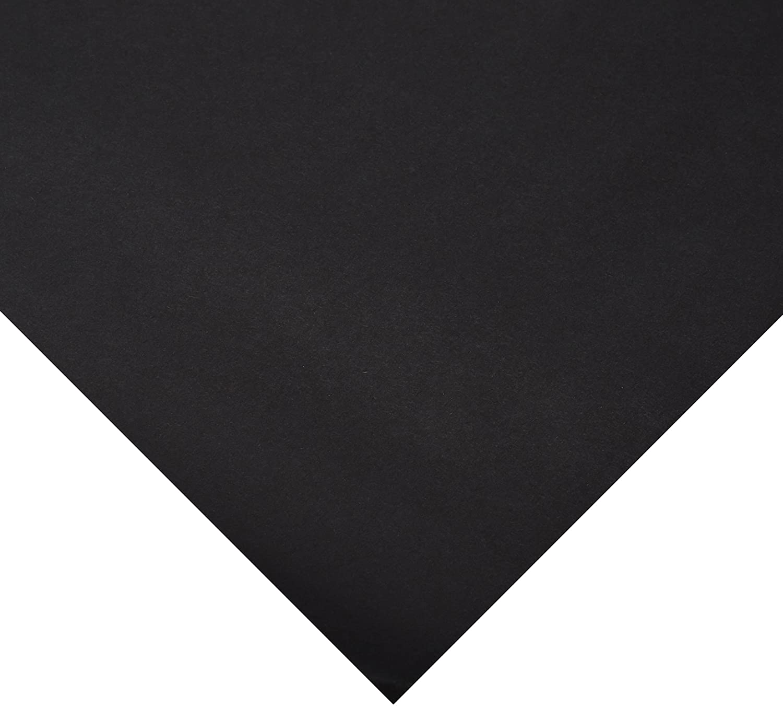 Rainbow Kraft 0063304 Colored Paper Rolls, 48 x 200' Size, Black 48 x 200' Size Pacon Corp 1369530