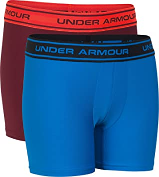 a756507421ae4d Amazon.com: Under Armour Boys' Original Series Printed Boxerjock 2 ...