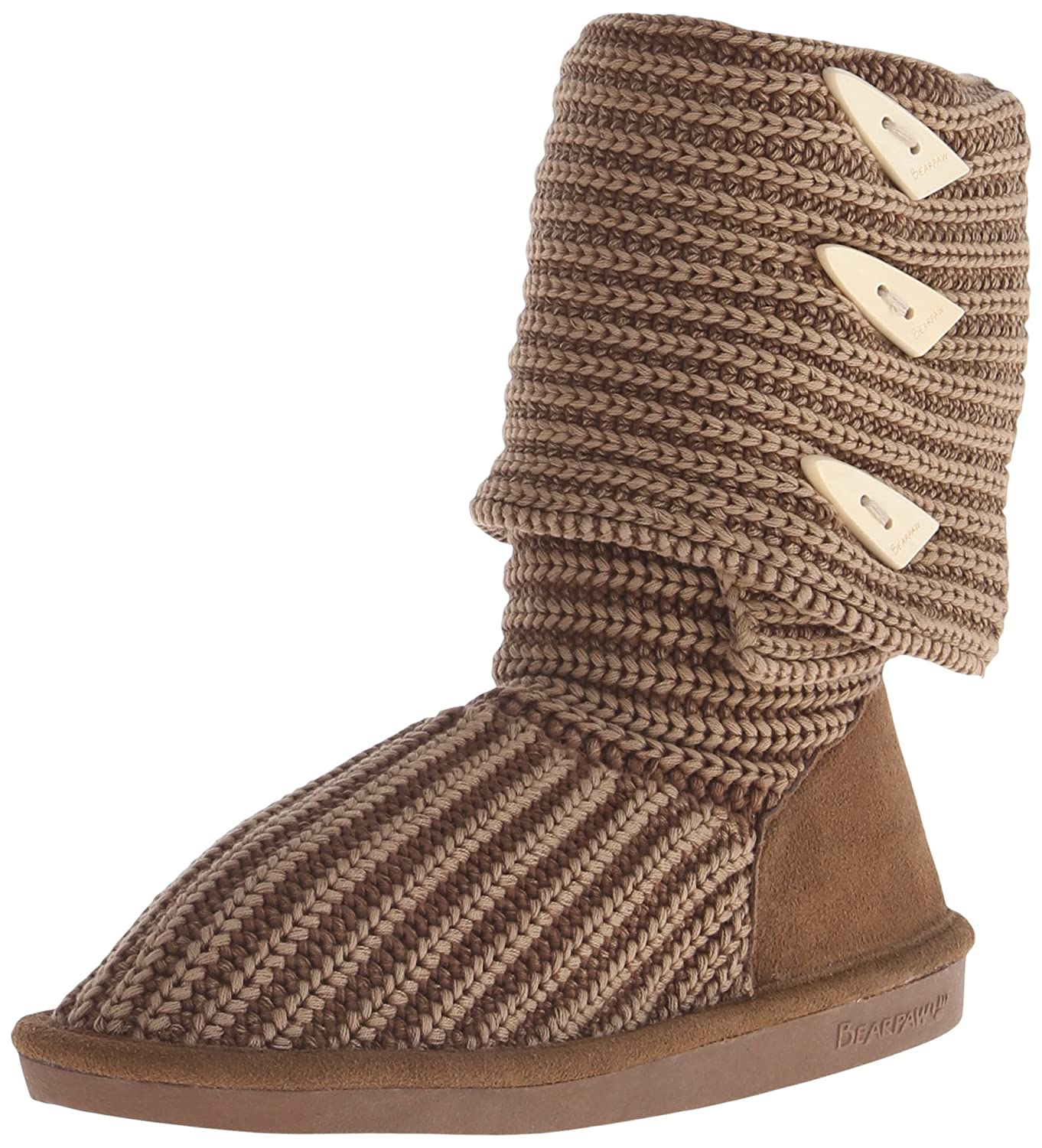 BEARPAW Women's Knit Tall B00592TRIU 10 B(M) US|Hickory