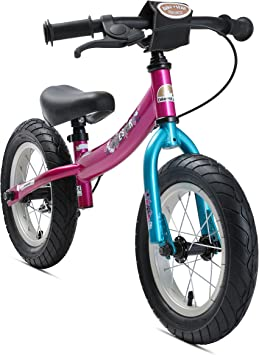 BIKESTAR Bicicleta sin Pedales para niños y niñas | Bici 12 Pulgadas a Partir de 3-4 años con Freno | 12