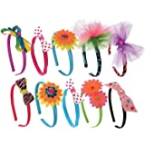 Kangaroo's Girls Toys; Kids Fashion Headbands Kit, 134 Pieces