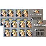 Florentine Madonna and Child USPS Forever First Class Postage Stamp U.S. Holiday Christmas Sheets (20 Stamps) (Booklet…