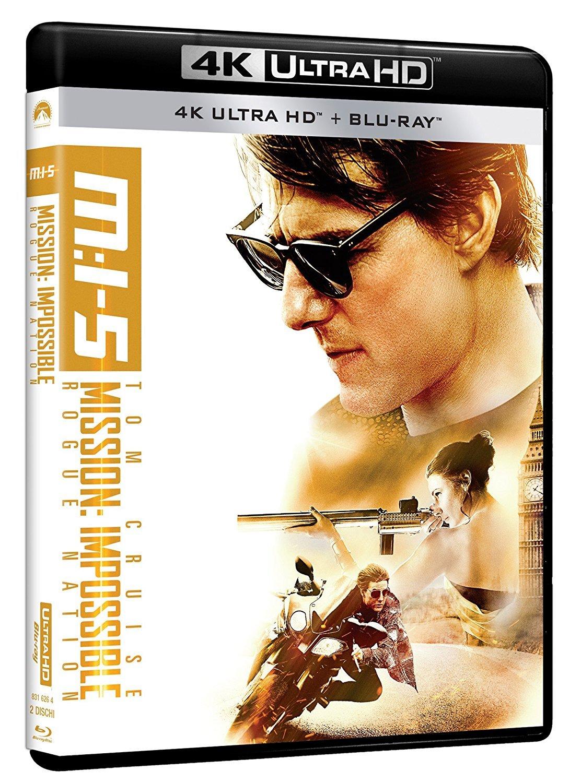 Mission: Impossible - Rogue Nation 4K Uhd+Blu-Ray Italia Blu-ray ...