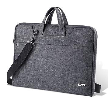 750366c80f58 Voova Laptop Bag 14-15.6 Inch Water-resistant Laptop Case with Multiple  Compartment Soft Foam Laptop Sleeve Shoulder Bag Computer Case Briefcase ...
