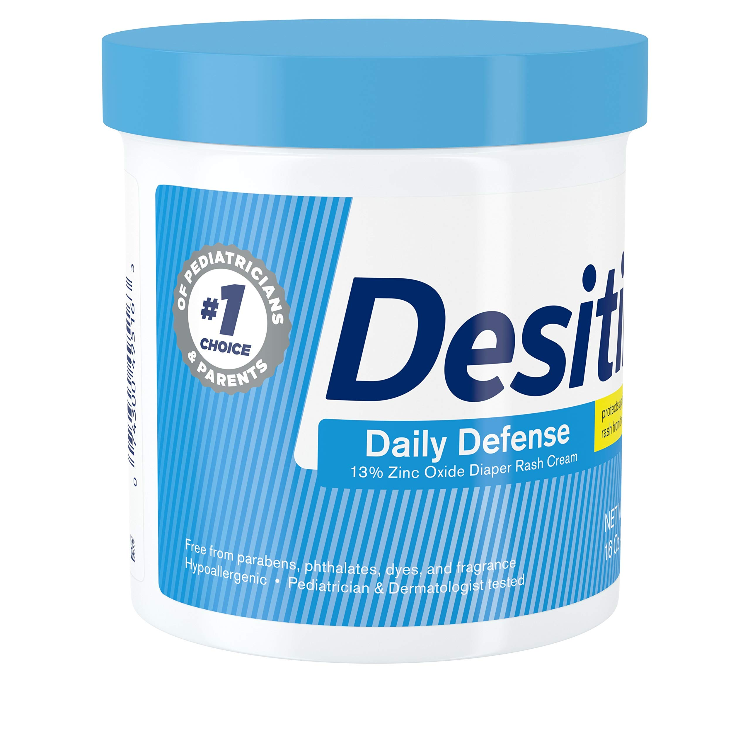 Desitin Daily Defense Baby Diaper Rash Cream with Zinc Oxide to Treat, Relieve & Prevent diaper rash, 16 oz by Desitin (Image #5)