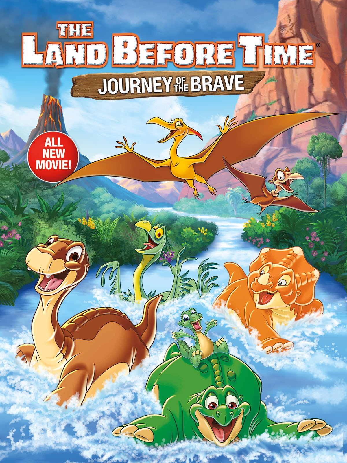 Amazon Com Watch The Land Before Time Xiv Journey Of The Brave
