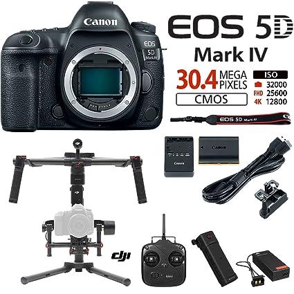 Amazon.com : Canon EOS 5D Mark IV 30.4 MP Full Frame CMOS DSLR ...
