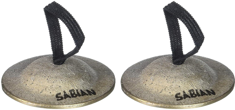 Sabian Finger Cymbal, Light, Pair Sabian Inc. 50101